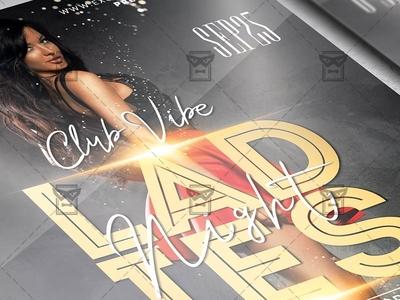 Ladies Night Affair Flyer - Club A5 Template
