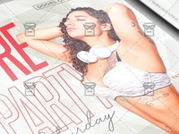 Pre Party Saturday Flyer - Club A5 Template