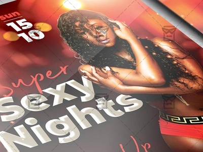Super Sexy Nights Flyer - Club A5 Template