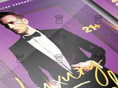 Luxury Friday Flyer - Club PSD Template