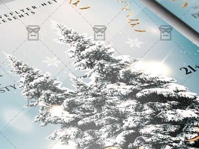 Jingle Bells Christmas Flyer - Winter PSD Template