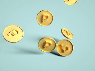 coins rouble cinema4d octane 3d coin
