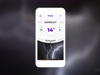 Ui challenge - 03 (weather application)