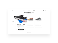 Nike product card concept