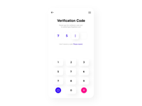 Verification Code concept