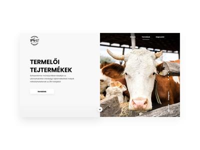 Milkfarm desktop design concept