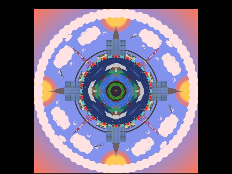 Mandala schoolproject mandala