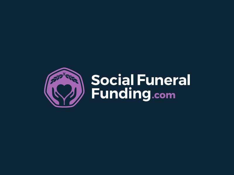 Funeral Funding Logo logos branding icon mark design social funeral identity brand emblem logo