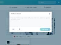 Status update empty 3x
