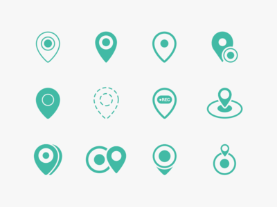 Location Recorder Icon Exploration