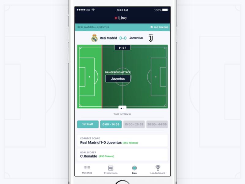Inplay - Betting App iphone soccer gambling bet football betting design app ux ui ios