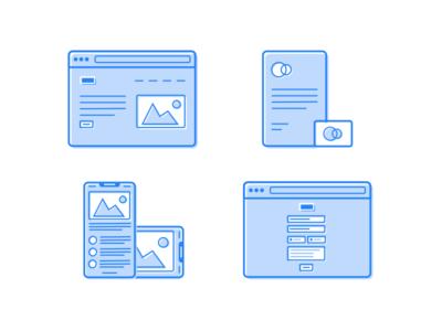 Portfolio Service Icons