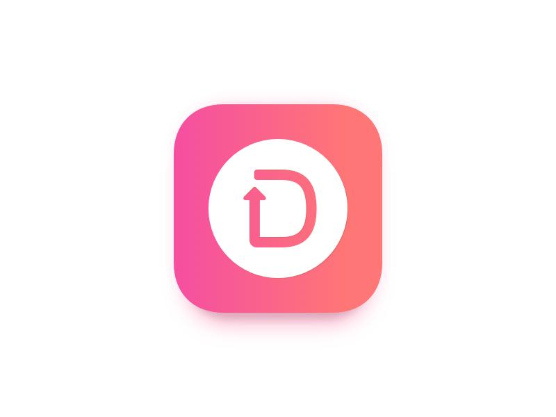 Doxy - App Icon symbol mark ios iphone icon ios10 cosmetic gradient app icon app