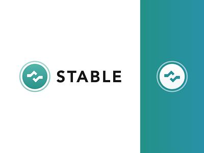 Stable Brand Concept mark typography icon design branding symbol emblem brand logo