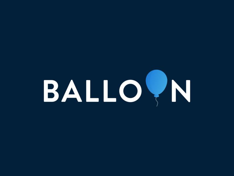 Balloon - Unused Logo Concept design emblem design branding brand emblem icon concept balloon logo
