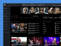 Media Portal Design