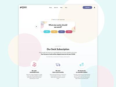 Futt Chatbot marketing landing page website web chatbot icon illustration clean design ui
