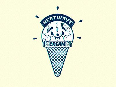 Heatwave Cream blue mint 3d canicule glace cold hot cream ice heatwave