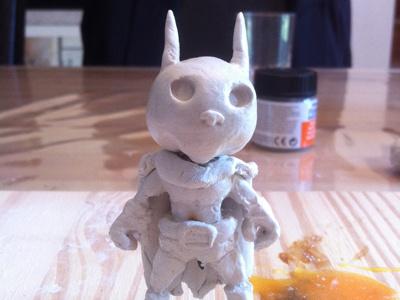 Marcel Batman figurine marcel batman figurine modelage fimo