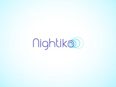 Nightika - sleep apnea innovation treatment innovation identity technology logo design