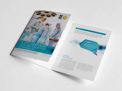 Medical Center - departments budget brochures branding design brochure print medical design