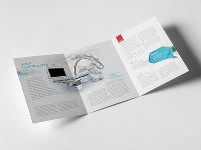 Medical Center - departments budget brochures branding brochure print design medical