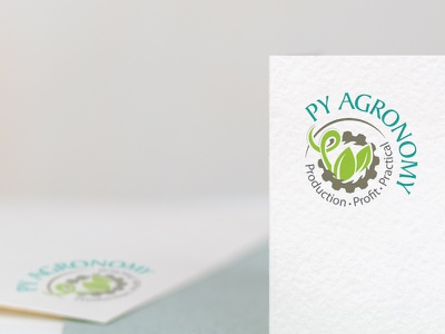 PY Agronomy - Agricultural Service in Parkes logo design logo branding identity
