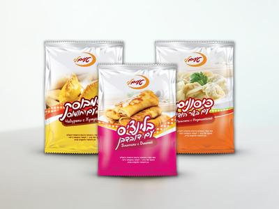 Taimli - frozen Shelf products packing design design branding