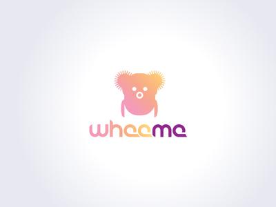Wheeme logo - Massage Robot high tech gadget vector innovation art logo sketch identity design