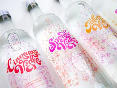 Spicy Vodka Packaging