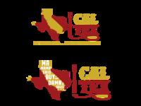Cal-Tex bbq sauce logo design