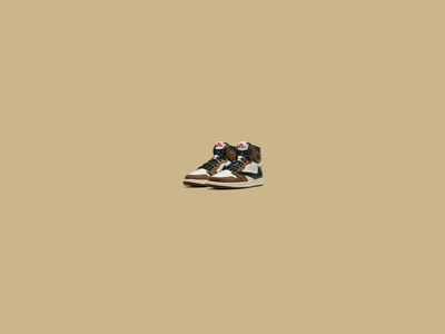 Sneaker Website Desktop - Scrolling Animation