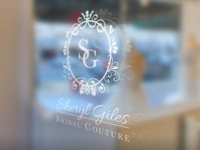 Bridal Shop Logo branding wedding branding wedding bridal shop logo design logo bridal