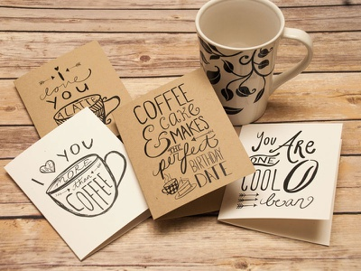 Coffee Cards cards greeting