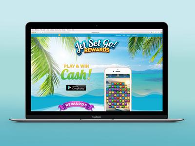 Jet Set Go Rewards Web Design design digital game app design app web design agency web design graphic design