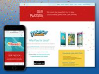 Rewardify Web Design