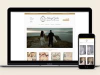 Wedding Shop Branding + Web Design