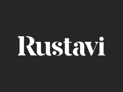 RUSTAVI - wordmark