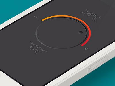 Remote remote iphone app temperature dial