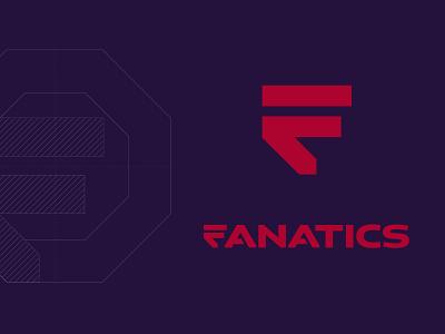 Fanatics branding identity f red icon logo