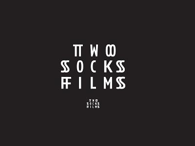Two Socks film wordmark logotype logo