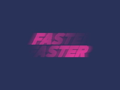 Fast Faster