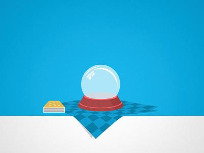Crystal Ball crystal ball illustration vector xero