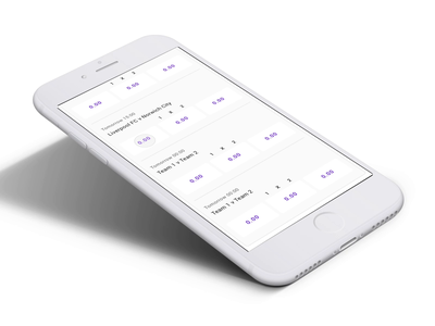 Flow concept mobile uidesign keyboard interface betting ui design