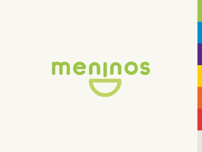 Meninos Daycare branding vector design