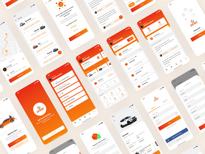 Zeioty App design fuel icon mobile app icons flat ui design clean