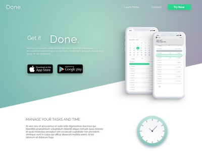 Landing Page - Daily UI Challenge 003