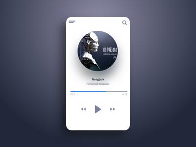 Music Player - Daily UI Challenge 009
