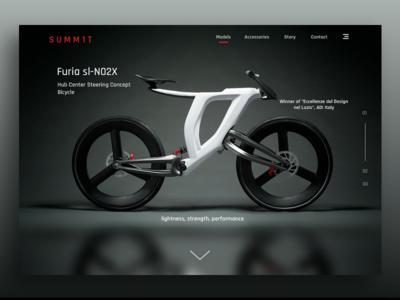3D-Printed Concept Bike - Furia