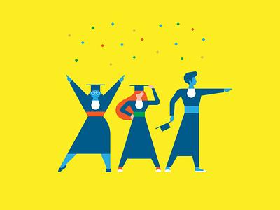 Colação de Grau na Federal vector design illustration students formatura colação fortaleza